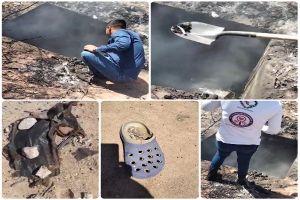 VIDEO: Hallan narcocrematorio donde cárteles incineraban cuerpos en zona fronteriza