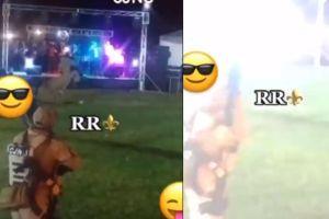 VIDEO: Narcos del CJNG disparan en plena fiesta mientras escuchan música de banda