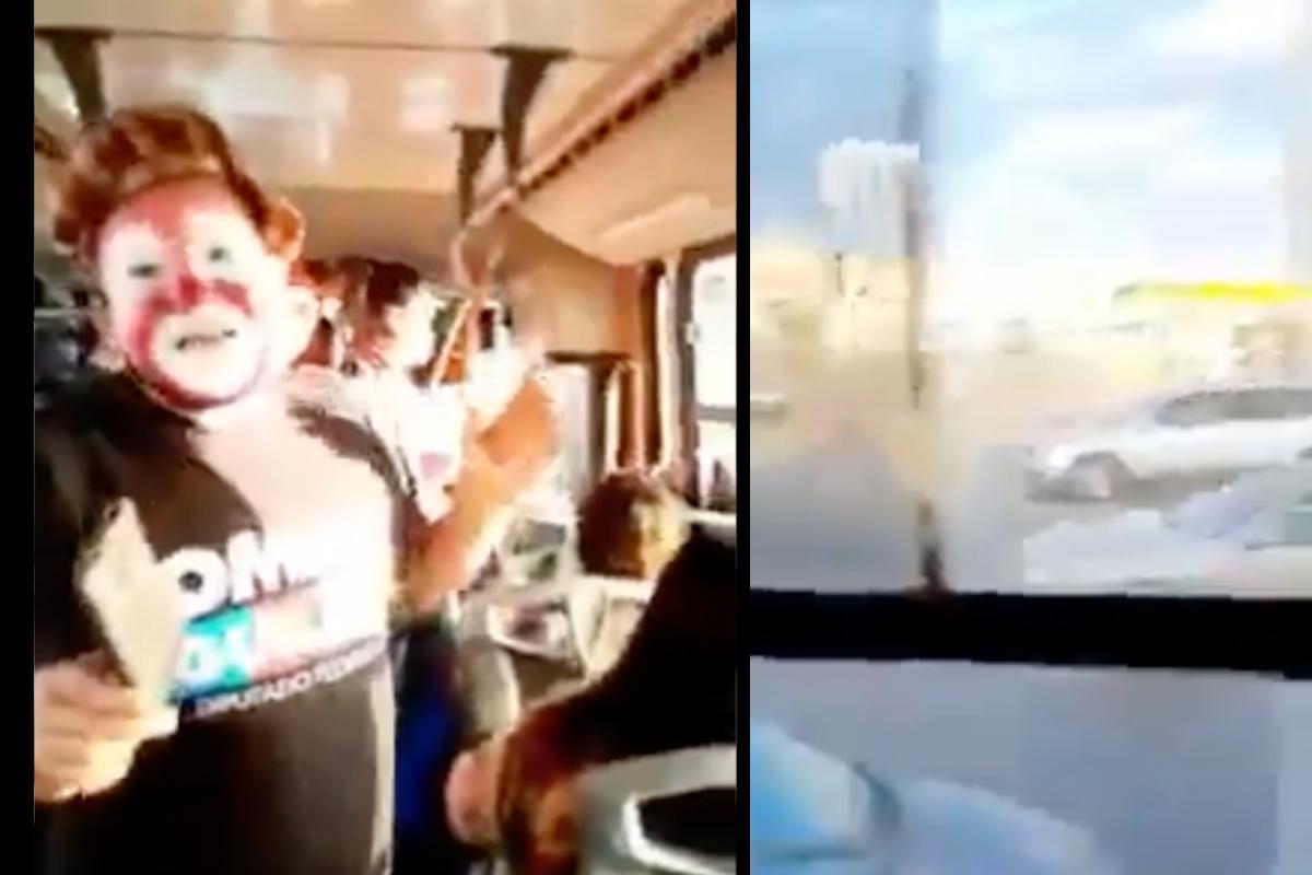 """VIDEO: """"Hasta balazos en vivo"""", payasito graba ejecución mientras realizaba show urbano"""