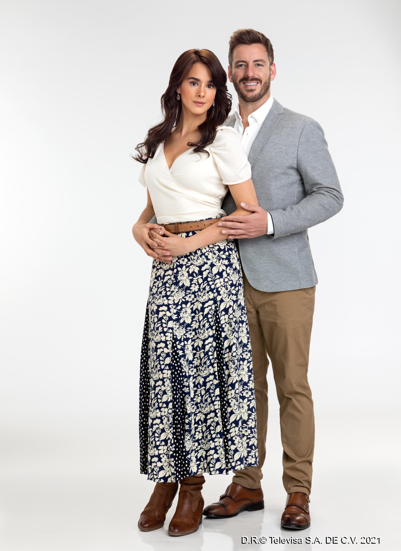 Gala Montes y Juan Diego Covarrubias protagonizan 'Diseñando Tu Amor'