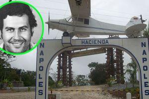 Así luce la hacienda donde Pablo Escobar tenía pista de aterrizaje y hasta su propio zoológico