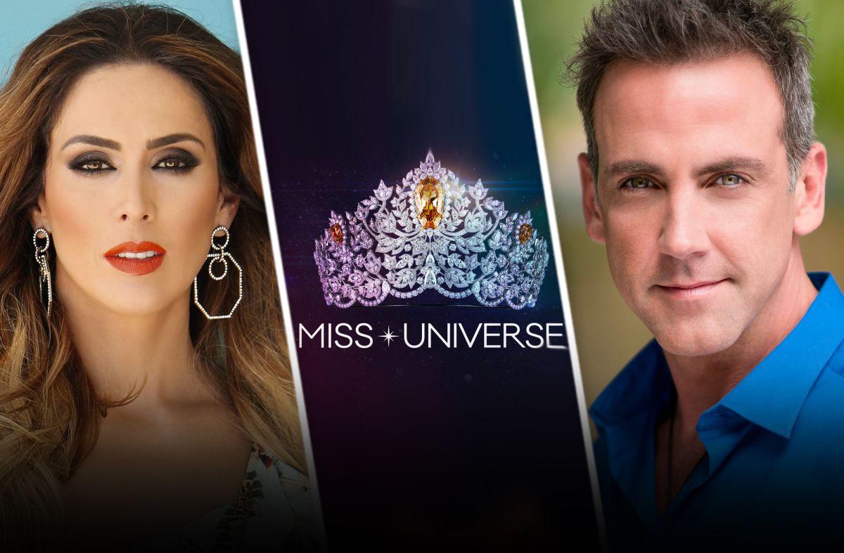 Miss Universo 2021: Jacky Bracamontes y Carlos Ponce, confirmados como presentadores en Telemundo