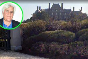 Conoce por dentro el impresionante castillo de Jay Leno, el magnate de los coches de lujo