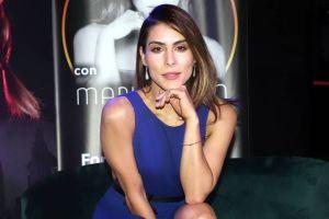 En ajustados leggings, María León da vueltas mortales como si fuera una gimnasta