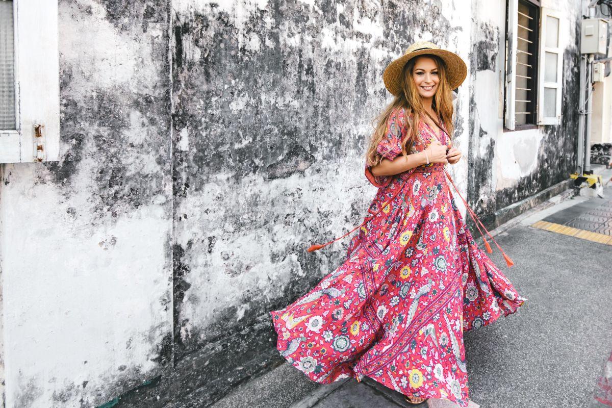 Los mejores diseños de maxi vestidos para un look casual, cómodo y femenino