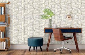 ¿Remodelación de bajo presupuesto? Mira los mejores diseños de viniles y papel tapiz para tu hogar