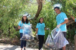 'Limpiar los ríos es un compromiso con el ambiente'