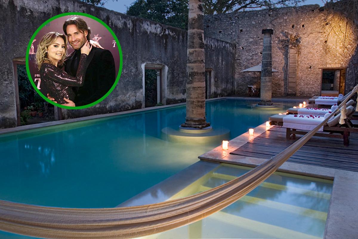 Así es la actualidad la hacienda donde Angelique Boyer y Sebastián Rulli iniciaron su historia de amor.