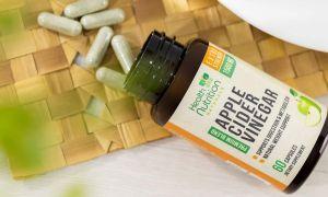 Los 5 mejores suplementos de vinagre de sidra de manzana para bajar de peso rápidamente