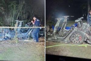 Investigación: Video muestra al dueño del Tesla que estalló en llamas subiéndose al asiento de conductor