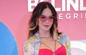 Belinda acaba con rumores de embarazo mostrando abdomen plano en ropa interior