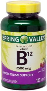 pastillas para tener mas energia vitaminab12