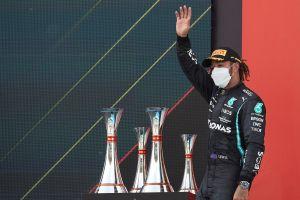 Hamilton se convierte en el primer piloto en ganar el GP de España en cinco ocasiones consecutivas