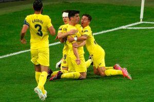 Gerard Moreno adelanta al Villarreal en la final de Europa League vs. Manchester United