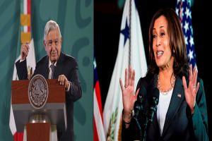 AMLO acusa a Estados Unidos de financiar movimiento golpista a horas de reunión con Kamala Harris