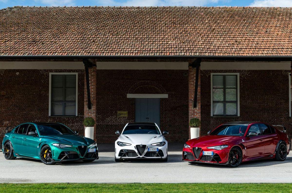 Alfa Romeo se luce con el Giulia GTA