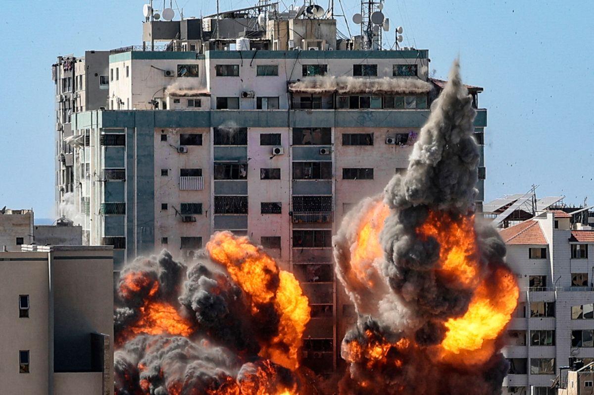 Edificio en Franja de Gaza