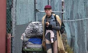 Loni Willison pasó de ser una modelo de fama y fortuna en Hollywood, a ser una homeless que come en basureros