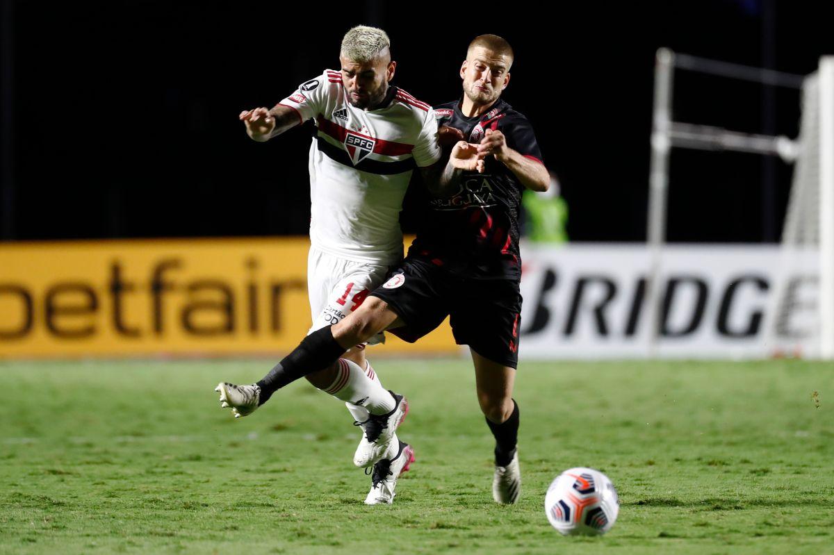 Duarte ha disputado cuatro partidos de Copa Libertadores este año.