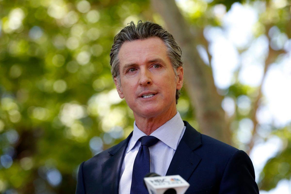 Gobernador de California Gavin Newsom. (Getty Images)