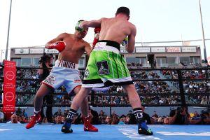 VIDEOS: Explota la violencia entre aficionados durante la pelea de Andy Ruiz en Carson