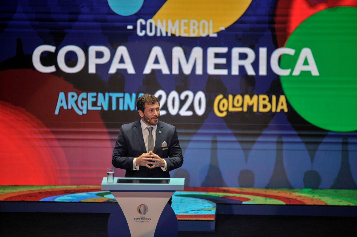 La Copa América 2020 iba a ser realizada en conjunto entre Argentina y Colombia. /Getty Images