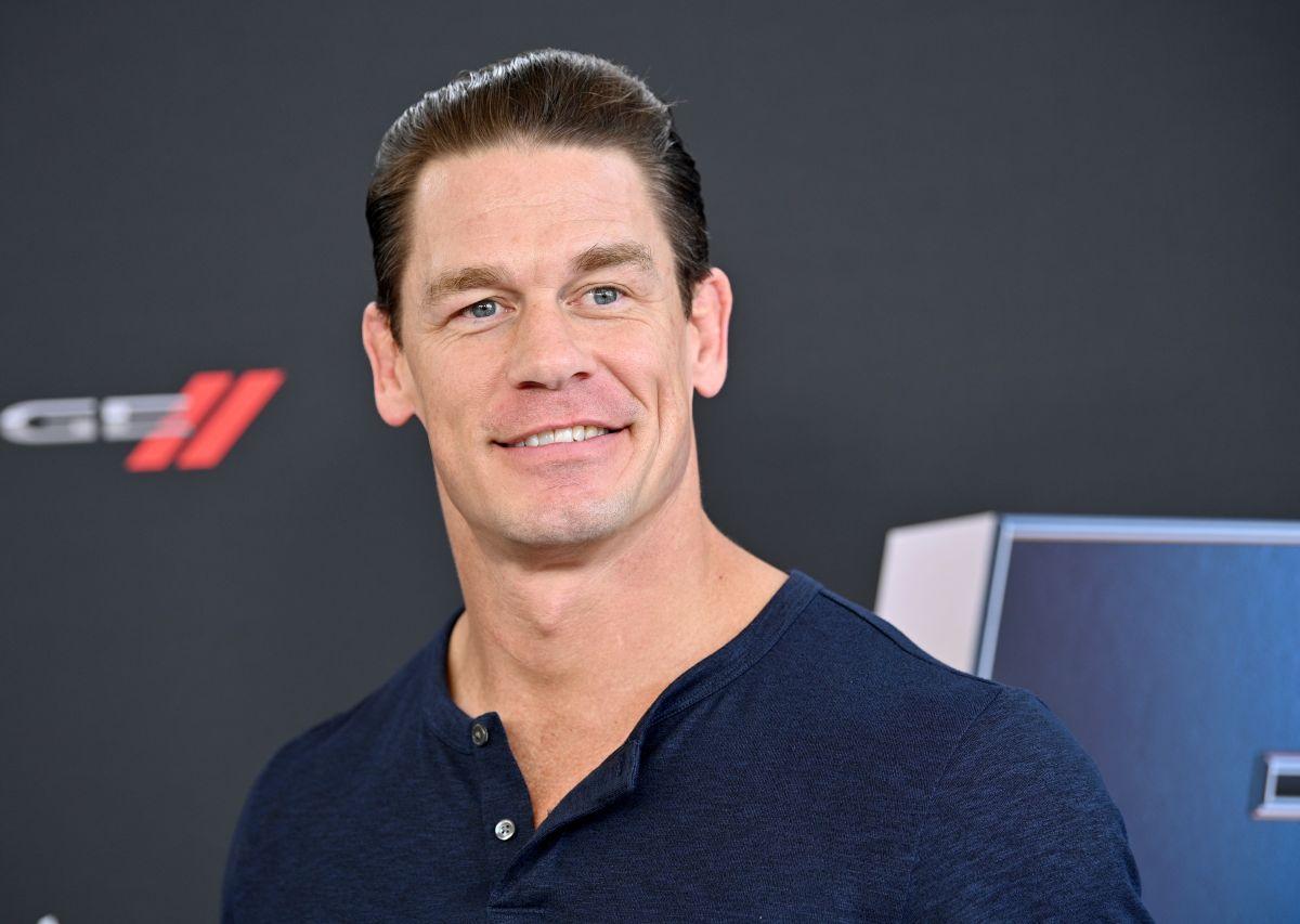 John Cena, de 44 años.