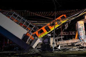 Video muestra momento exacto del desplome del Metro de la Ciudad de México; suman más de 20 muertos y decenas de heridos