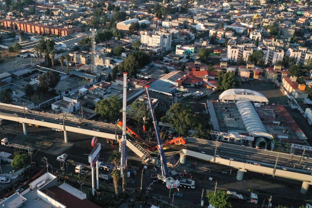 Metro vista aérea