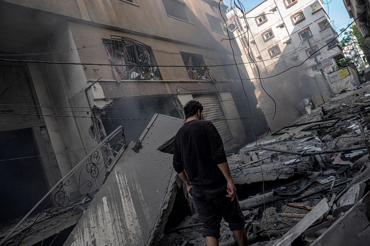 Aumenta a 43 los palestinos muertos en Gaza por conflicto con Israel; 13 de ellos son niños
