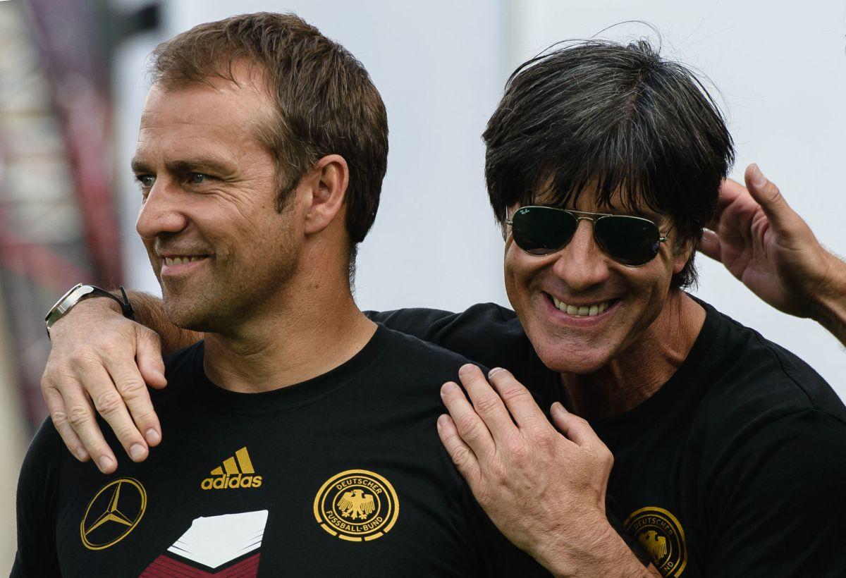 Hansi Flick perteneció al cuerpo técnico que ayudó a Joachim Low a conquistar la Copa del Mundo en 2014.