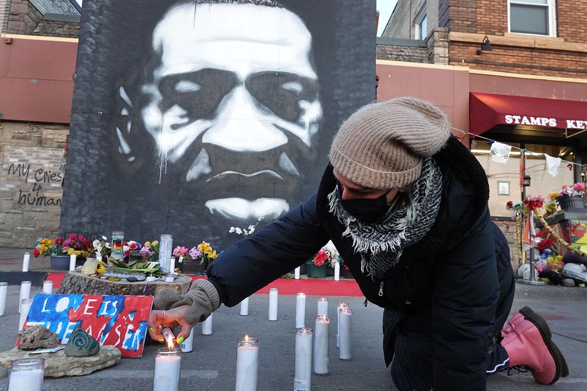 Estados Unidos recuerda a George Floyd a un año de su muerte   Crédito: Getty Images