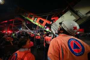 Dan a conocer nuevo video del momento exacto del desplome del Metro de la Ciudad de México