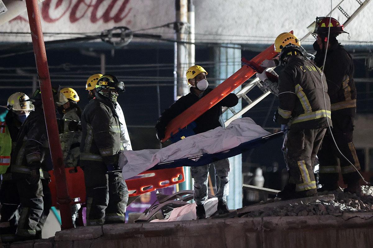 Metro accidente Ciudad de México