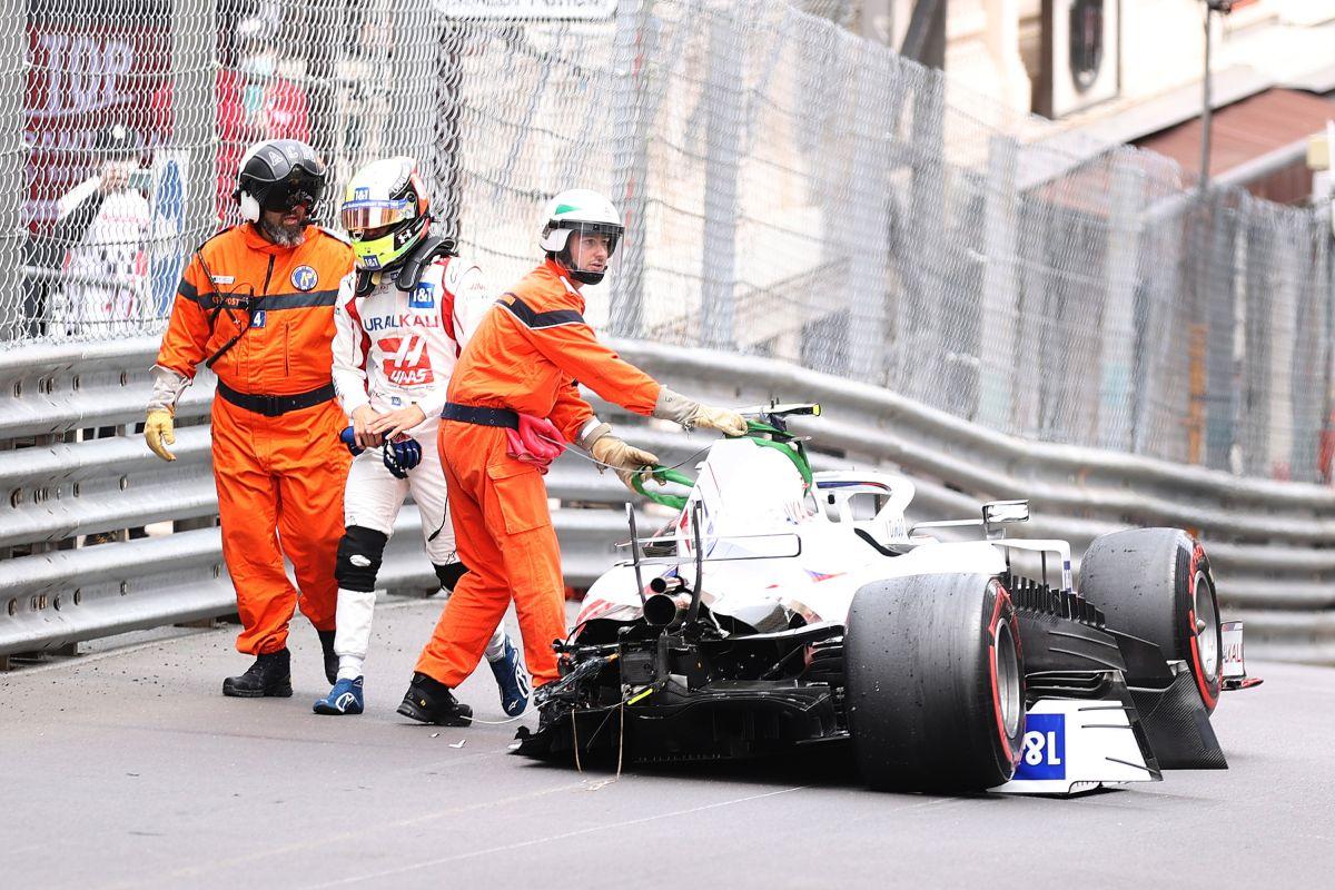El choque de Mick Schumacher que dejó su vehículo destrozado en la F1