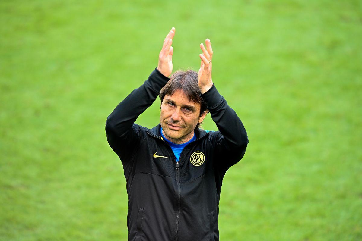 Conte, de 51 años, llegó al Inter de Milán el 31 de mayo de 2019, con contrato por tres temporadas.