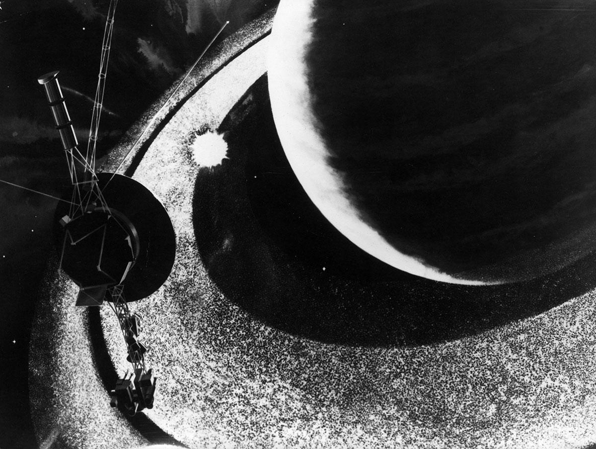 La Voyager 1 detecta el zumbido de gas interestelar en el vacío del espacio