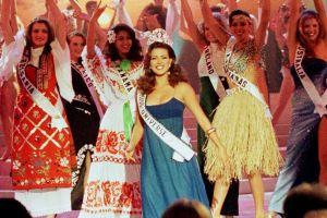 Así lucía Alicia Machado cuando ganó Miss Universo en 1996