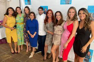 María Antonieta Collins festejó el nuevo libro y su cumpleaños rodeada de mujeres periodistas exitosas