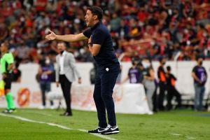 Entrenador de Puebla admitió sentir bronca tras gol en posible fuera de juego