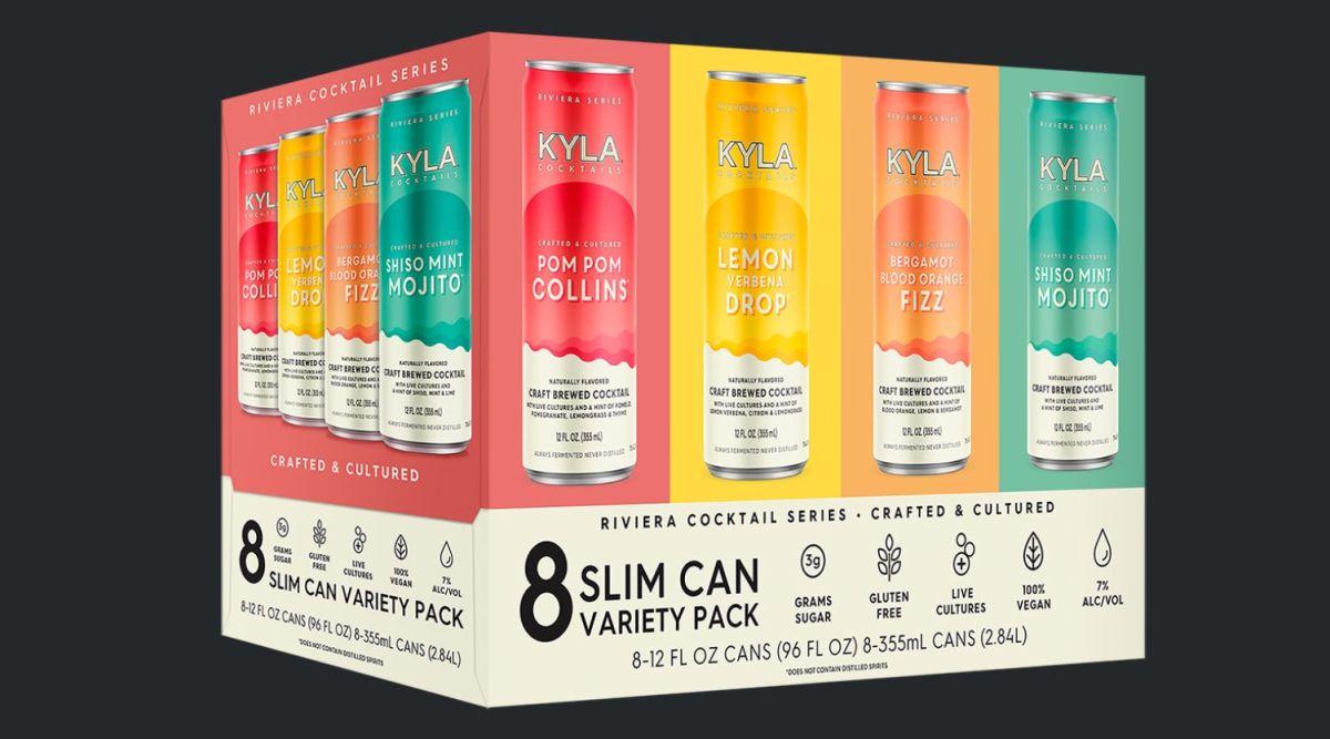 KYLA lanza una gama innovadora de cócteles elaborados artesanalmente con cultivos vivos.