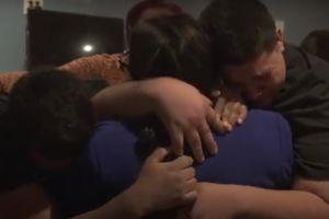 Madre de Honduras se reúne con sus hijos después de tres años de haber sido separados durante gobierno de Trump