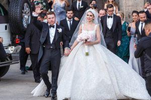 """Maná, Banda el Recodo y Los Ángeles Azules cantaron en la boda de """"Canelo"""" Álvarez y Fernanda Gómez"""