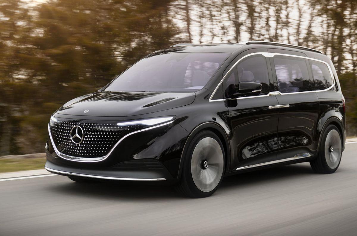 La furgoneta cero emisiones de Mercedes-Benz está en camino