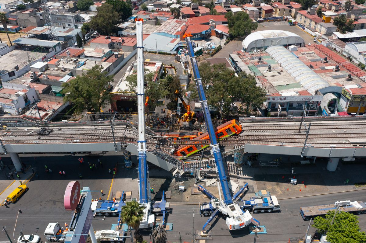 Mundo del deporte mostró apoyo a víctimas de la Línea 12 del metro de la CDMX