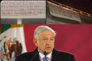 """Narcos advierten a AMLO: """"Si usted no nos escucha, nos haremos escuchar"""""""