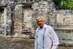 AMLO recibe visita del presidente de Guatemala, Alejandro Giammattei, y ofrece disculpas al pueblo Maya