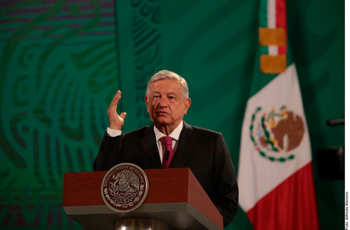 """AMLO dice que es el """"colmo"""" que EE.UU. esté financiando a grupos opositores a su gobierno en México"""
