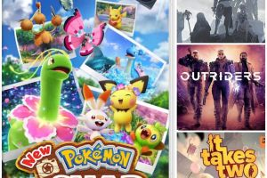 Reseña New Pokémon Snap, NieR Replicant, Outriders, It Takes Two y Famicom Detective Club