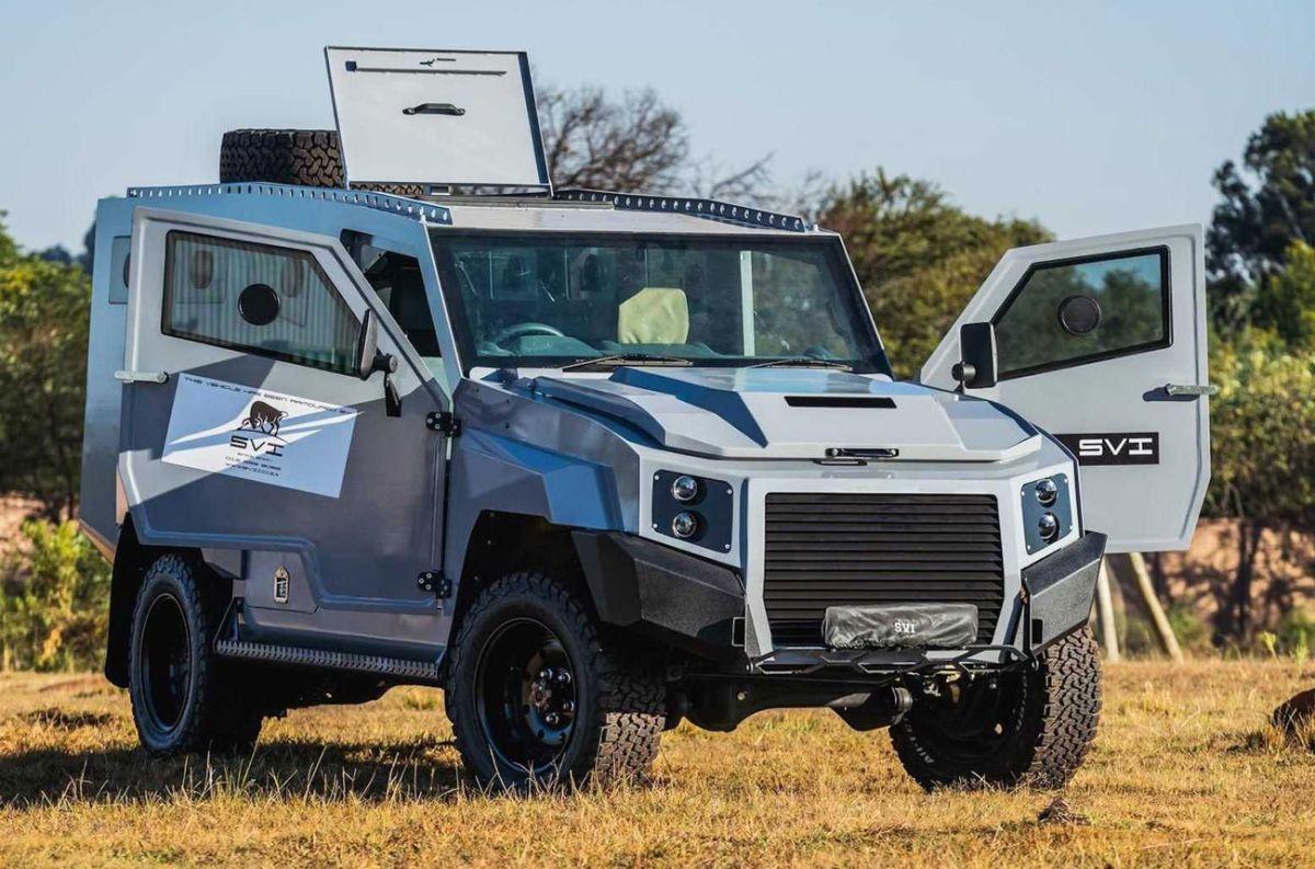 Descubre a este vehículo blindado basado en un Toyota Land Cruiser